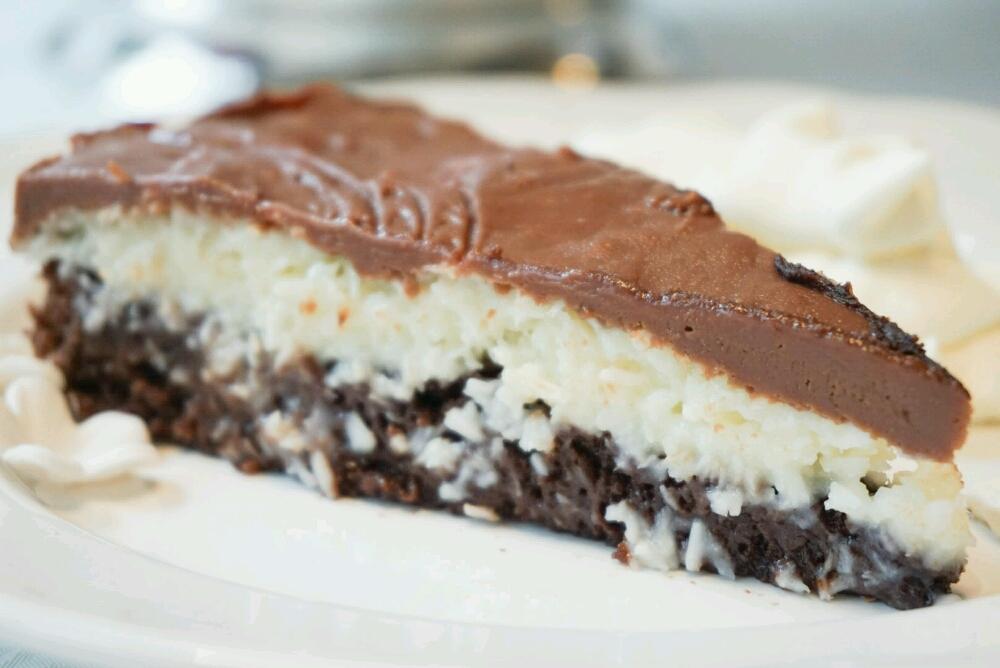 chokladtårta med kondenserad mjölk