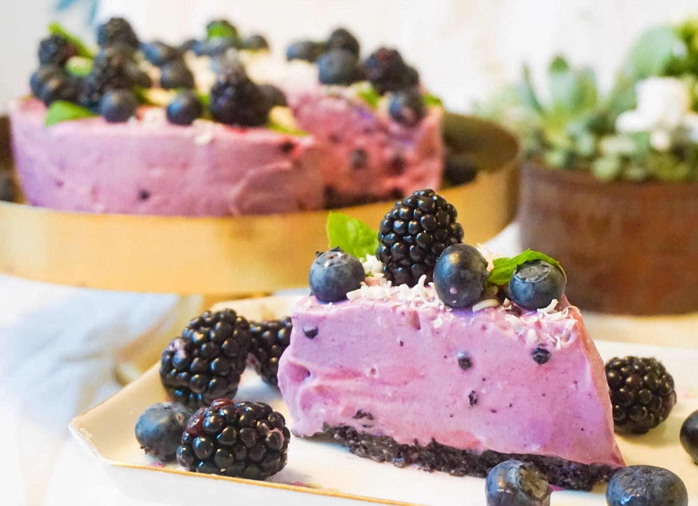 Blåbärscheesecake1