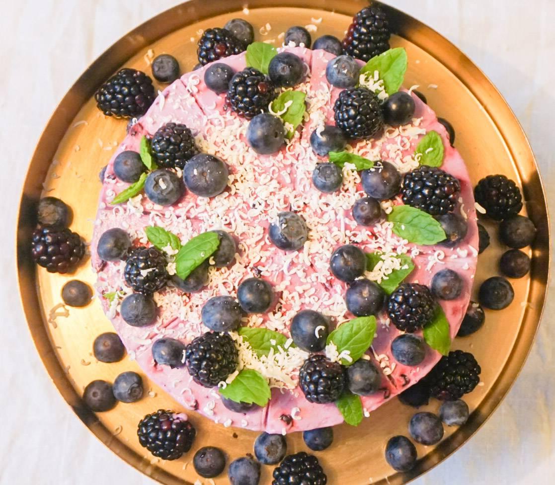 Blåbärscheesecake2
