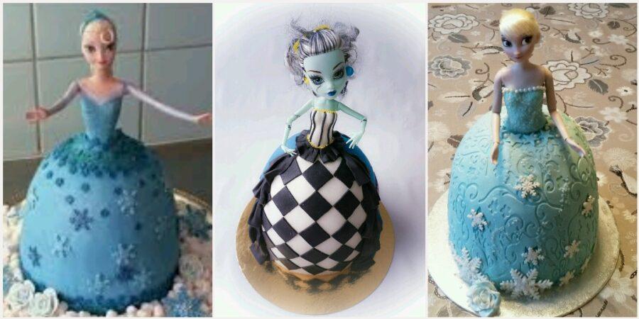 docktårta barbietårta elsatårta