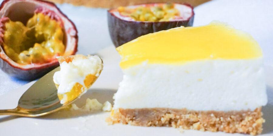 Passionsfruktscheesecake