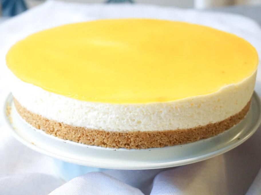 Passiobsfruktscheesecake