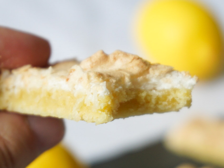 Citronmarängsnittar